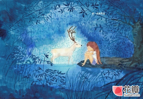 一点水先生:你是闯进我心里的一只鹿