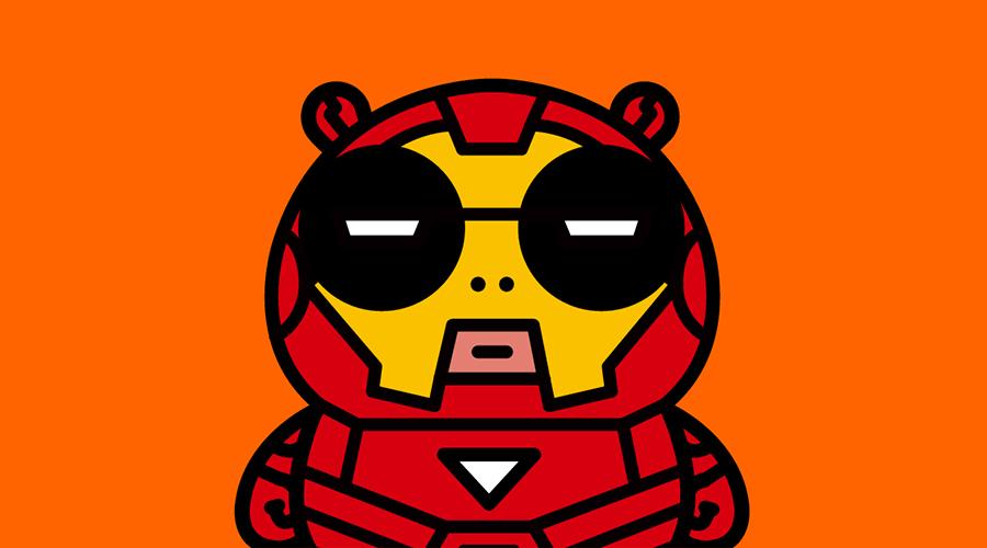 熊喵熊:英雄头像大放送