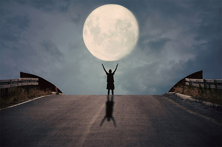拥抱月亮的你